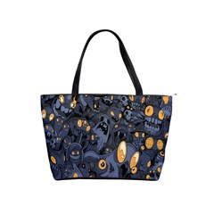 Monster Cover Pattern Shoulder Handbags by BangZart