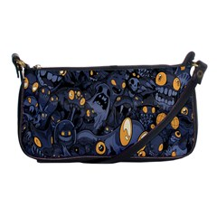 Monster Cover Pattern Shoulder Clutch Bags by BangZart
