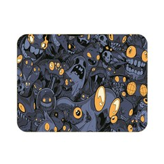Monster Cover Pattern Double Sided Flano Blanket (mini)  by BangZart