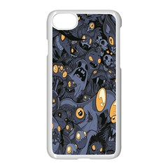 Monster Cover Pattern Apple Iphone 7 Seamless Case (white) by BangZart