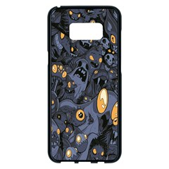 Monster Cover Pattern Samsung Galaxy S8 Plus Black Seamless Case by BangZart