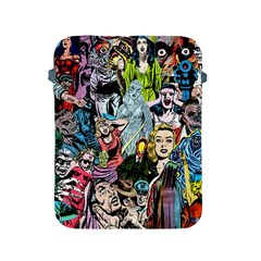 Vintage Horror Collage Pattern Apple Ipad 2/3/4 Protective Soft Cases by BangZart