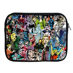 Vintage Horror Collage Pattern Apple Ipad 2/3/4 Zipper Cases by BangZart