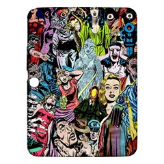 Vintage Horror Collage Pattern Samsung Galaxy Tab 3 (10 1 ) P5200 Hardshell Case  by BangZart