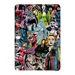 Vintage Horror Collage Pattern Samsung Galaxy Tab Pro 12 2 Hardshell Case by BangZart
