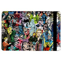 Vintage Horror Collage Pattern Ipad Air 2 Flip by BangZart