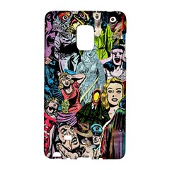 Vintage Horror Collage Pattern Galaxy Note Edge by BangZart