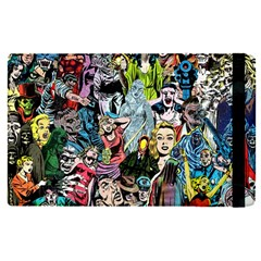 Vintage Horror Collage Pattern Apple Ipad Pro 9 7   Flip Case by BangZart