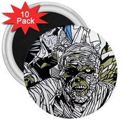 The Monster Squad 3  Magnets (10 Pack)  by BangZart