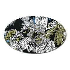 The Monster Squad Oval Magnet