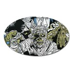 The Monster Squad Oval Magnet Front