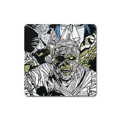 The Monster Squad Square Magnet by BangZart