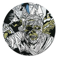 The Monster Squad Magnet 5  (round) by BangZart