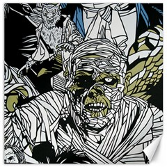 The Monster Squad Canvas 12  X 12   by BangZart