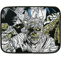 The Monster Squad Fleece Blanket (mini) by BangZart