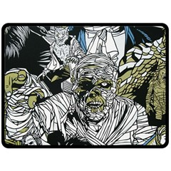 The Monster Squad Double Sided Fleece Blanket (large)  by BangZart