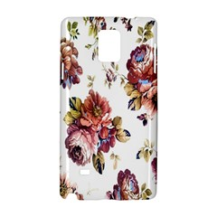 Texture Pattern Fabric Design Samsung Galaxy Note 4 Hardshell Case by BangZart