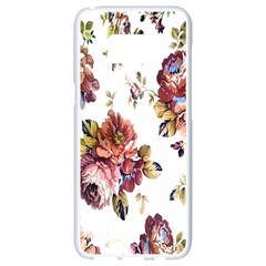 Texture Pattern Fabric Design Samsung Galaxy S8 White Seamless Case by BangZart