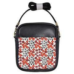 Simple Japanese Patterns Girls Sling Bags by BangZart