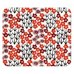 Simple Japanese Patterns Double Sided Flano Blanket (small)  by BangZart