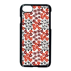 Simple Japanese Patterns Apple Iphone 7 Seamless Case (black) by BangZart