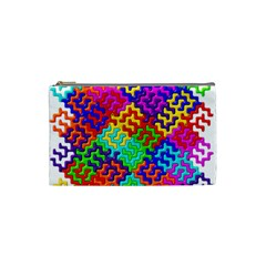 3d Fsm Tessellation Pattern Cosmetic Bag (small)  by BangZart