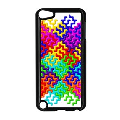 3d Fsm Tessellation Pattern Apple Ipod Touch 5 Case (black) by BangZart