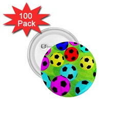 Balls Colors 1 75  Buttons (100 Pack)  by BangZart
