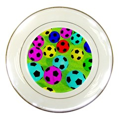 Balls Colors Porcelain Plates by BangZart