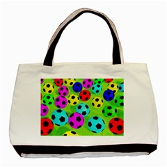 Balls Colors Basic Tote Bag by BangZart