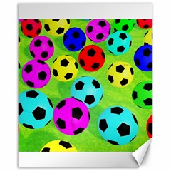 Balls Colors Canvas 16  X 20   by BangZart