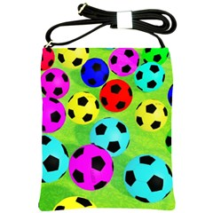 Balls Colors Shoulder Sling Bags by BangZart