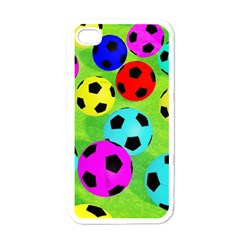 Balls Colors Apple Iphone 4 Case (white) by BangZart