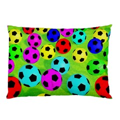 Balls Colors Pillow Case (two Sides) by BangZart
