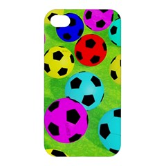 Balls Colors Apple Iphone 4/4s Premium Hardshell Case by BangZart
