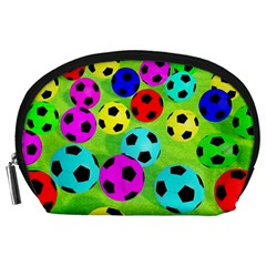 Balls Colors Accessory Pouches (large)  by BangZart