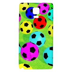 Balls Colors Galaxy Note 4 Back Case by BangZart