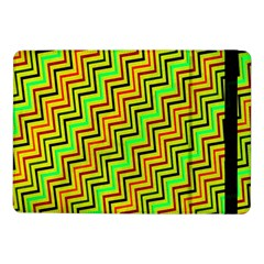 Green Red Brown Zig Zag Background Samsung Galaxy Tab Pro 10 1  Flip Case