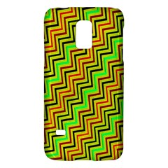 Green Red Brown Zig Zag Background Galaxy S5 Mini by BangZart