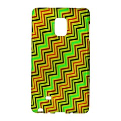 Green Red Brown Zig Zag Background Galaxy Note Edge by BangZart