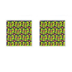 Smiley Monster Cufflinks (square) by BangZart