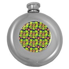 Smiley Monster Round Hip Flask (5 Oz) by BangZart