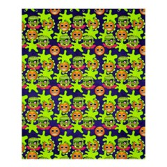 Smiley Monster Shower Curtain 60  X 72  (medium)  by BangZart