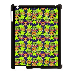 Smiley Monster Apple Ipad 3/4 Case (black) by BangZart