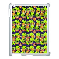 Smiley Monster Apple Ipad 3/4 Case (white) by BangZart