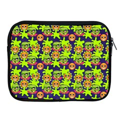 Smiley Monster Apple Ipad 2/3/4 Zipper Cases by BangZart