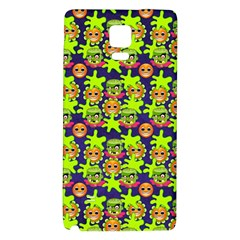 Smiley Monster Galaxy Note 4 Back Case by BangZart