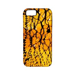 Yellow Chevron Zigzag Pattern Apple Iphone 5 Classic Hardshell Case (pc+silicone) by BangZart