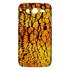 Yellow Chevron Zigzag Pattern Samsung Galaxy Mega 5 8 I9152 Hardshell Case  by BangZart