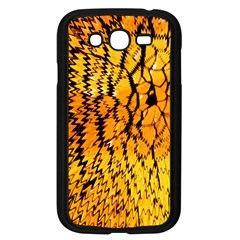 Yellow Chevron Zigzag Pattern Samsung Galaxy Grand Duos I9082 Case (black) by BangZart